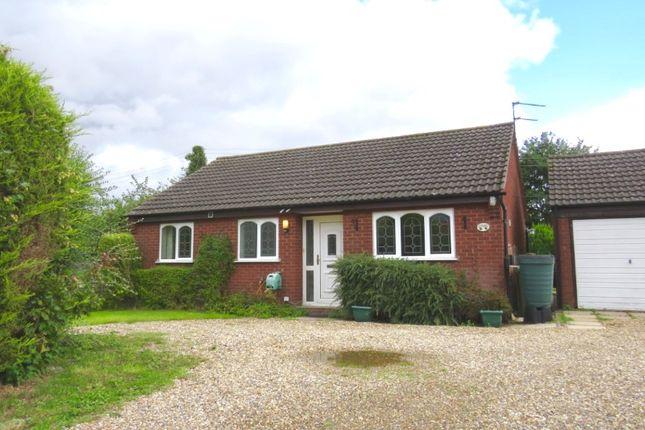 Thumbnail Bungalow for sale in Chapel Side, Welgate, Mattishall, Dereham, Norfolk