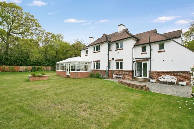 Thumbnail Detached house for sale in Netley Hill Estate, Bursledon, Hampshire