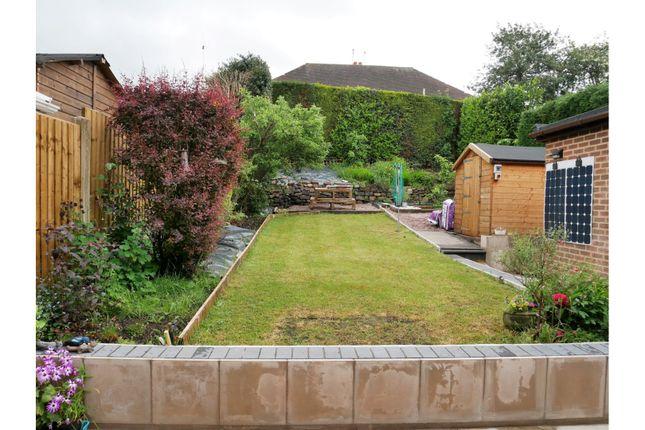 Garden of Bagnall Road, Milton, Stoke-On-Trent ST2