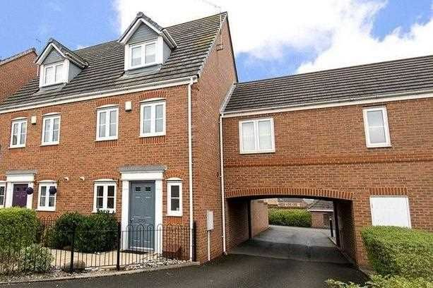 Thumbnail Terraced house to rent in Carnation Way, Nuneaton