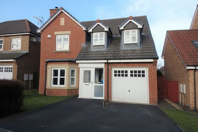 Thumbnail Detached house for sale in Younghall Close, Greenside, Ryton