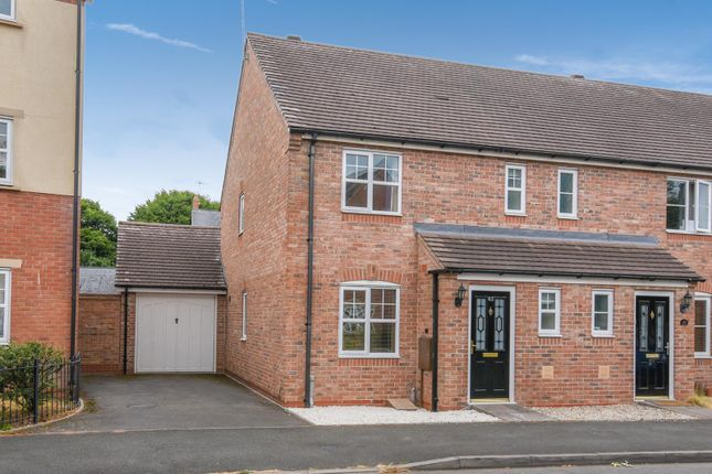 Thumbnail End terrace house for sale in Wordsworth Avenue, Stratford-Upon-Avon