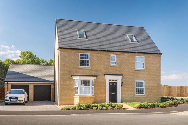 "Thumbnail Detached house for sale in ""Moorecroft"" at Great Hall Drive, Bury St. Edmunds"