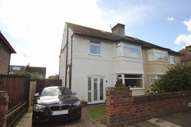 Thumbnail Semi-detached house for sale in Meadowside, Leasowe, Wirral