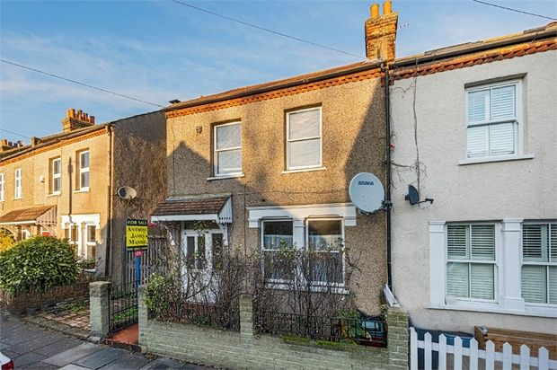 End terrace house for sale in Castle Road, Isleworth, Middlesex