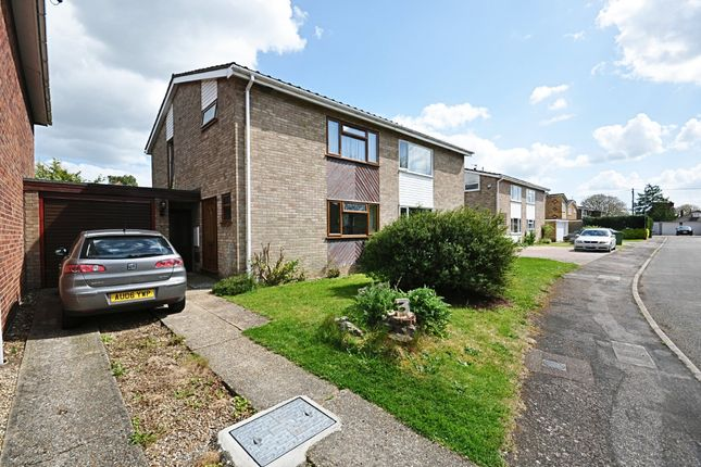 Thumbnail Semi-detached house for sale in Lewis Drive, Roydon, Diss