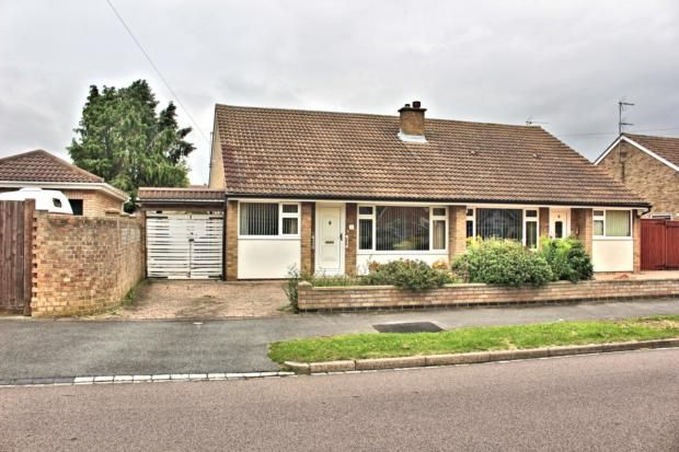Thumbnail Bungalow to rent in Portland Close, Bedford