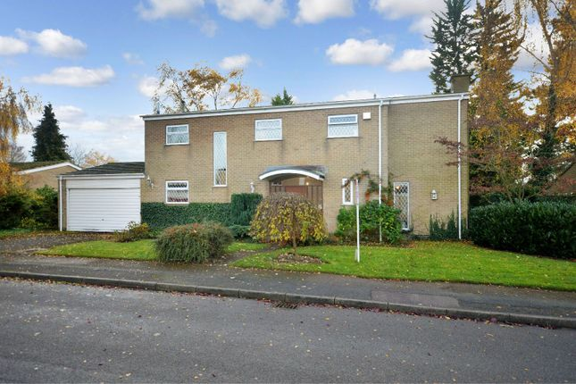 Thumbnail Detached house for sale in Stoughton Close, Oadby, Leicester