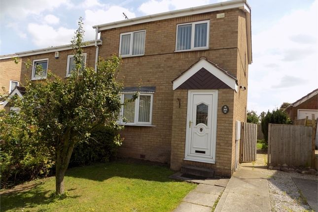 Thumbnail Semi-detached house to rent in Gateford Glade, Worksop, Nottinghamshire