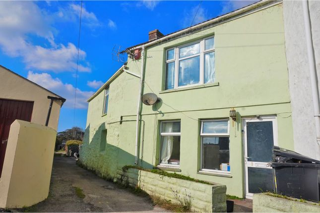 Thumbnail End terrace house for sale in Roskear Road, Camborne