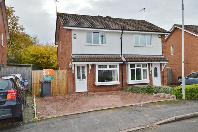 Thumbnail Semi-detached house for sale in Gatcombe Close, Wolverhampton