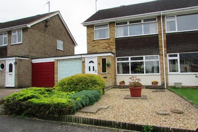 Thumbnail Semi-detached house for sale in Oaks Drive, Higham Ferrers, Rushden