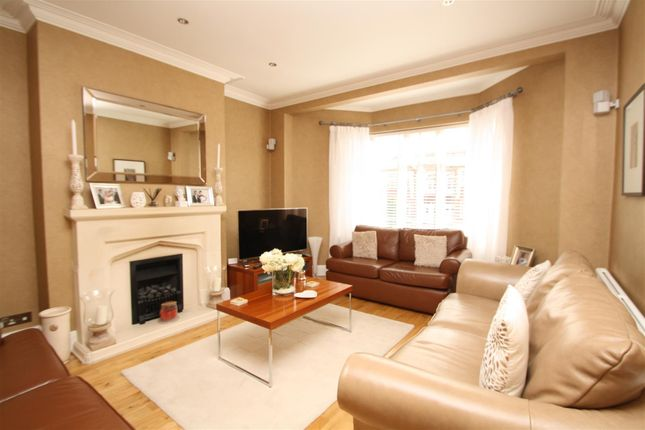 Thumbnail Semi-detached house for sale in Ashridge Gardens, Palmers Green, London