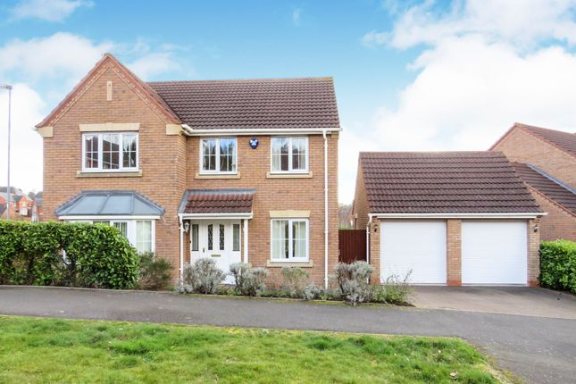 Thumbnail Detached house for sale in Betony Road, Burton-On-Trent