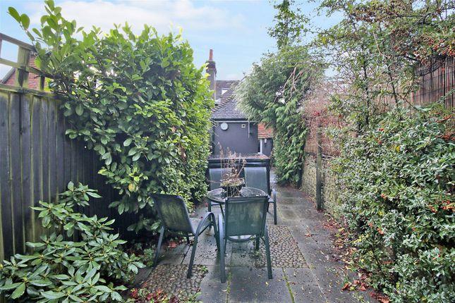 Garden of Old White Hart Cottage, High Street, Brasted, Kent TN16