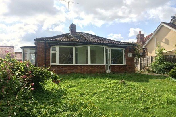 Thumbnail Bungalow to rent in Main Street, York
