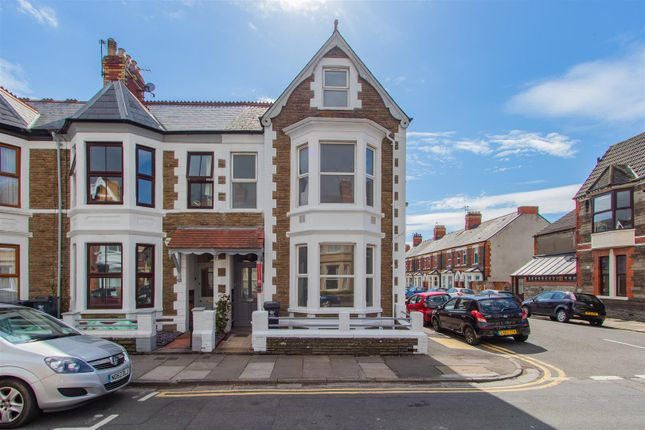 Thumbnail End terrace house for sale in Lochaber Street, Roath, Cardiff