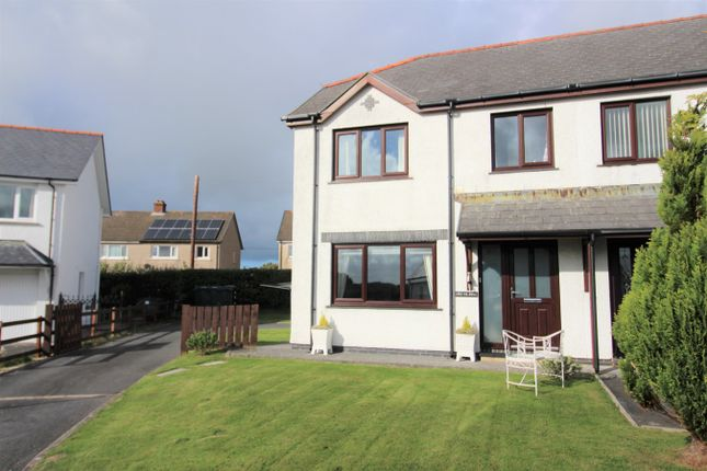 Thumbnail Semi-detached house for sale in 11A Maes Iwan, Ffosyffin, Aberaeron