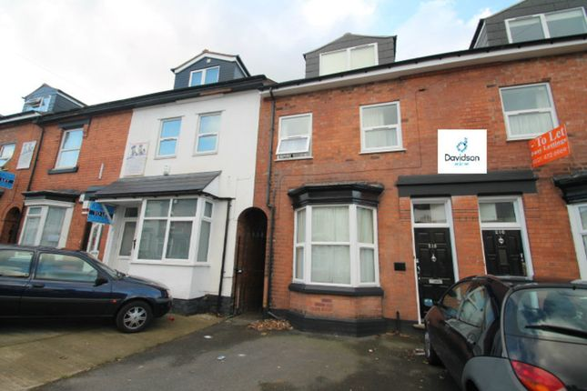 Thumbnail Terraced house to rent in Heeley Road, Selly Oak