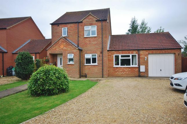 Thumbnail Detached house for sale in Jubilee Close, Sutton St. James, Spalding