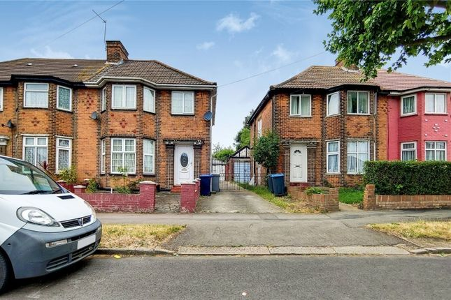 Thumbnail Semi-detached house to rent in Wyld Way, Wembley