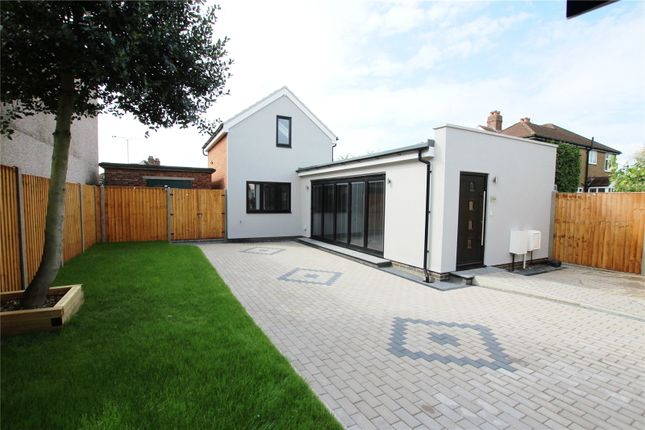 Thumbnail Detached house for sale in Sherwood Park Avenue, Sidcup, Kent