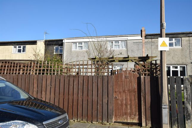 Thumbnail End terrace house for sale in Mallory Close, St. Athan, Barry