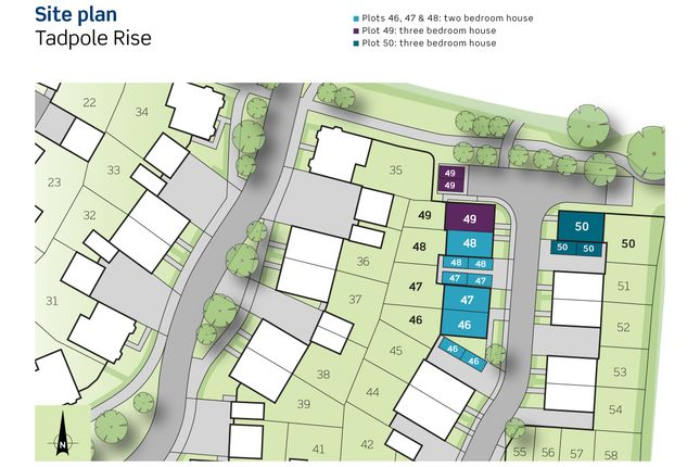 Siteplan of Newlynne Close, Swindon SN25