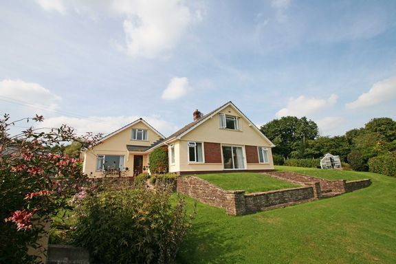 Thumbnail Detached bungalow for sale in High Street, Bampton, Tiverton