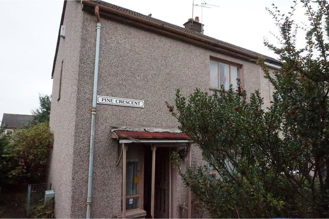 Thumbnail Semi-detached house for sale in Pine Crescent, Johnstone