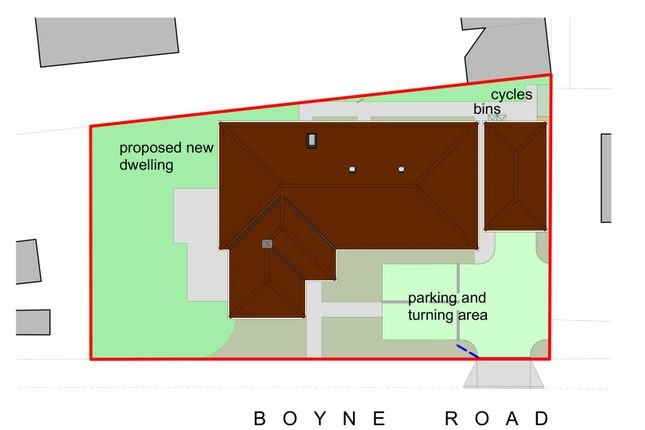 Block Plan of Abbot Road, Bury St. Edmunds IP33