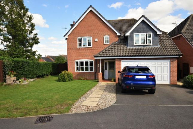 Thumbnail Detached house for sale in Harborough Close, Whissendine, Oakham