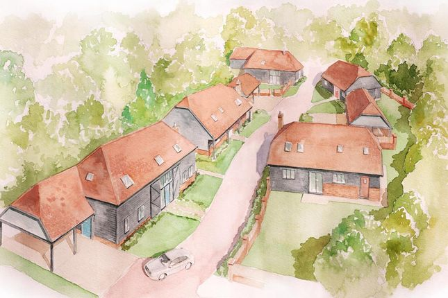 Thumbnail Detached house for sale in Old Ashford Road, Lenham, Maidstone