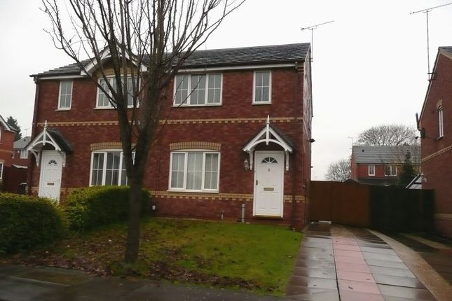 Thumbnail Semi-detached house to rent in Kingsmead Mews, Willenhall, Coventry