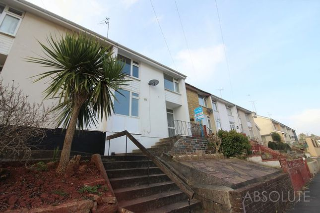 Thumbnail Terraced house to rent in Queensway, Torquay