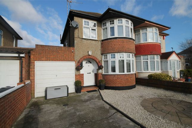 Thumbnail Semi-detached house for sale in Staines Road, Feltham, Bedfont, Middlesex