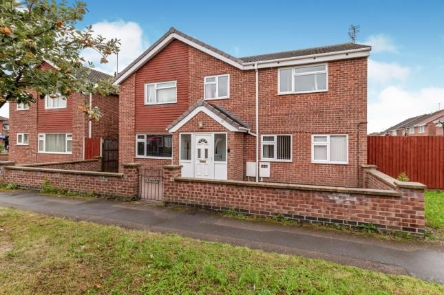 Thumbnail Detached house for sale in Uttoxeter Close, Rushey Mead, Leicester, Leicestershire