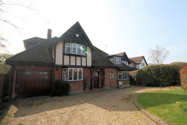 Thumbnail Detached house to rent in Turnoak Avenue, Hook Heath, Woking