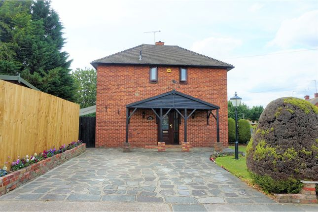 Thumbnail End terrace house for sale in Dorking Road, Romford
