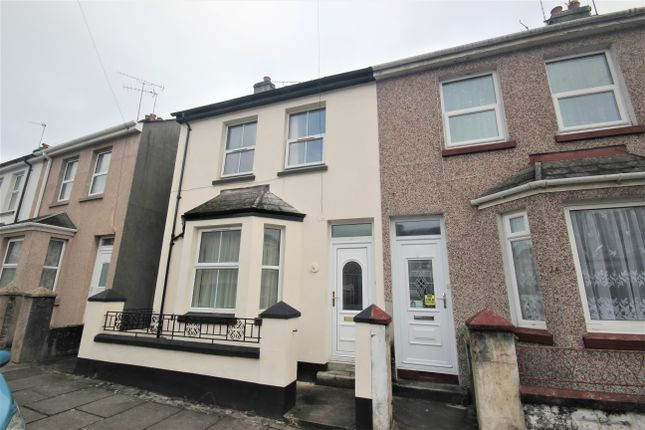 Thumbnail Terraced house to rent in Tresluggan Road, Plymouth