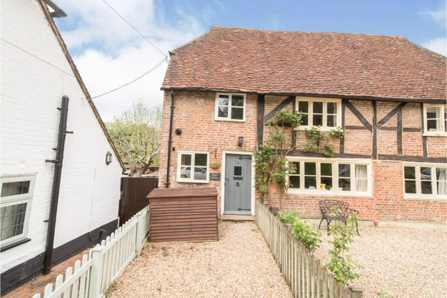 2 bed semi-detached house for sale in The Street, Old Basing, Basingstoke RG24