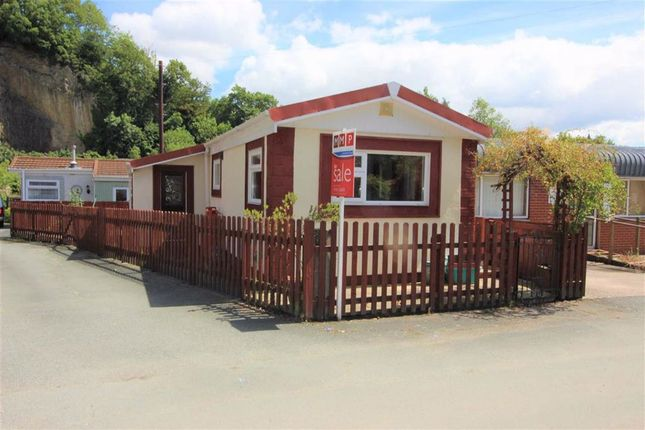 Thumbnail Mobile/park home for sale in 14, The Quarry, Brook Street, Welshpool, Powys