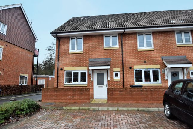 Thumbnail End terrace house for sale in Shafford Meadows, Hedge End, Southampton