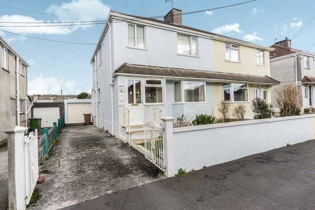 Thumbnail Semi-detached house for sale in Molesworth Road, Plympton, Plymouth