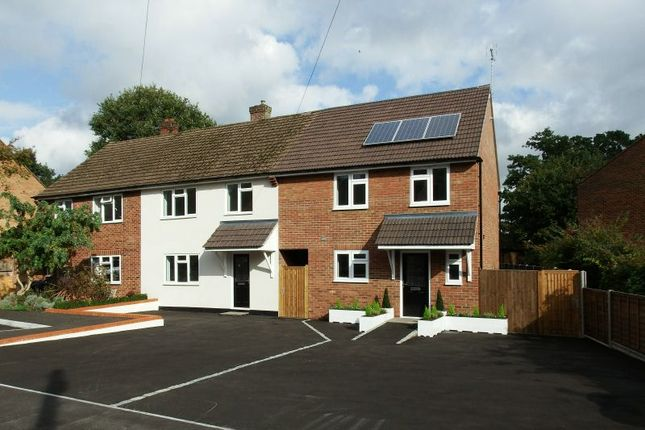 Thumbnail End terrace house for sale in Hillside Close, Knaphill, Woking