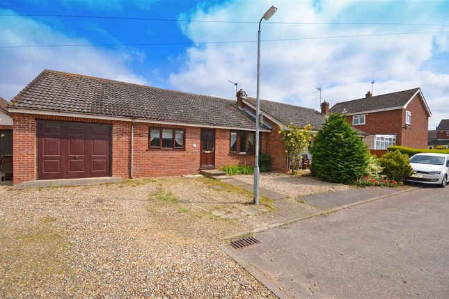 Thumbnail Bungalow for sale in Nursery Close, Acle, Norwich