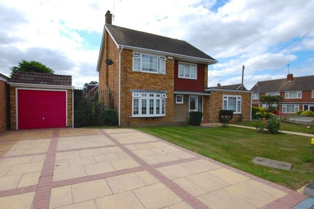 Thumbnail Detached house for sale in Totnes Walk, Old Springfield, Chelmsford