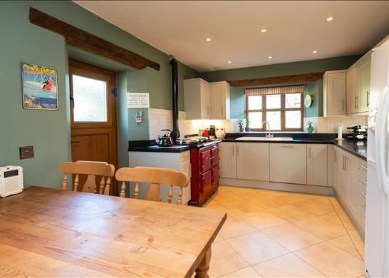 Kitchen of Bredons Norton, Tewkesbury, Worcestershire GL20