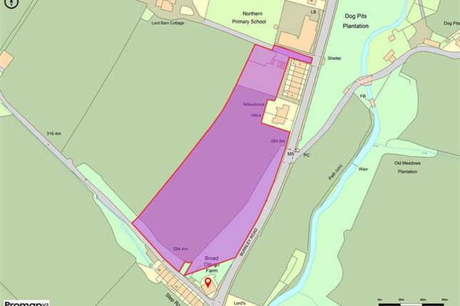 Thumbnail Land for sale in Burnley Road, Bacup, Lancashire