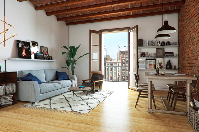 Living Room of Eixample, Barcelona (City), Barcelona, Catalonia, Spain